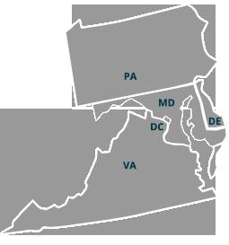 DelMarVa Map